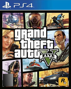 GTA 5 – Grand Theft Auto V – PS4