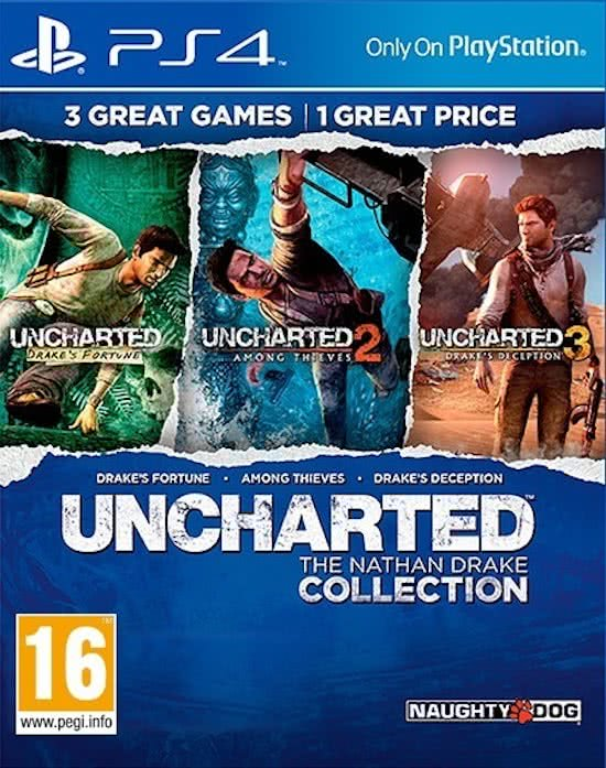 Uncharted – The Nathan Drake Collection – PS4